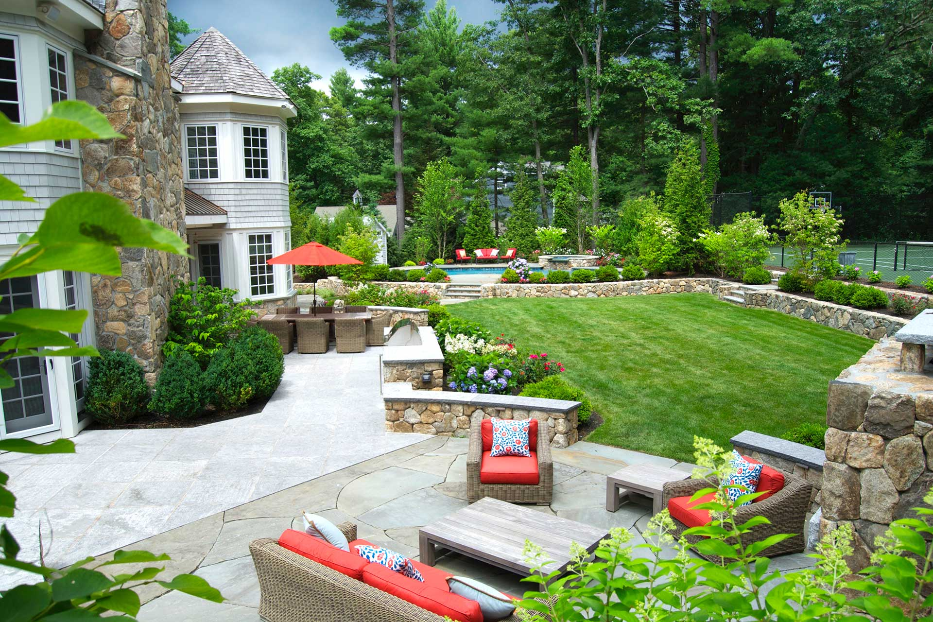 Arlington TX Landscape Designs & Outdoor Living Areas