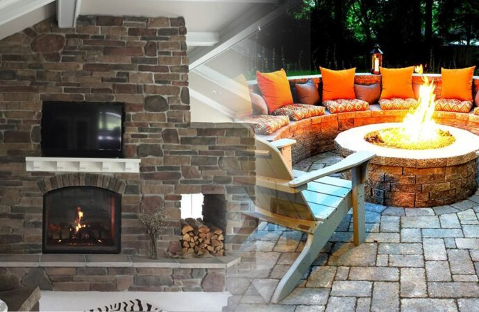 Outdoor Fireplaces & Fire Pits-Arlington TX Landscape Designs & Outdoor Living Areas-We offer Landscape Design, Outdoor Patios & Pergolas, Outdoor Living Spaces, Stonescapes, Residential & Commercial Landscaping, Irrigation Installation & Repairs, Drainage Systems, Landscape Lighting, Outdoor Living Spaces, Tree Service, Lawn Service, and more.